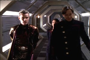 James Marsters as Charlemagne alongside Kevin Sorbo as Dylan Hunt
